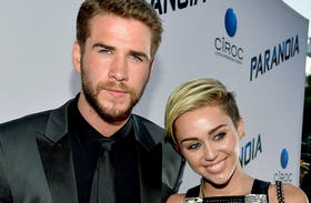 Liam Hemsworth és Miley Cyrus