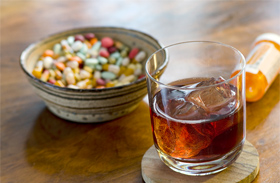 Alkohol-gyógyszer: halálos páros