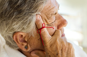 Alzheimer-kóros agy