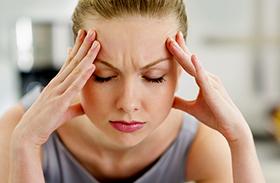 Fejfájás enyhítése masszírozással
