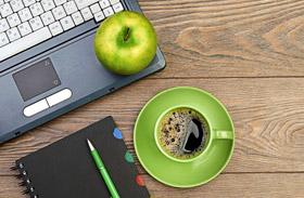 Kávé helyett alma