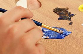 A művészi tehetség 3 jele a tenyéren