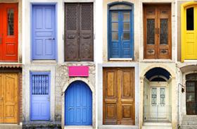 Bejárati ajtó színe feng shui