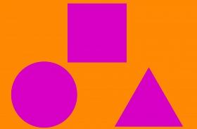Négyzet kör háromszög személyiség teszt