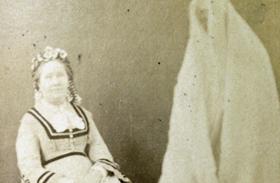 Szellemfotó készítés 19. század