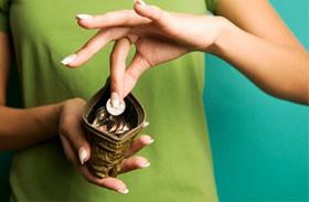 Tenyérjóslás pénz