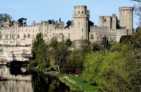 Warwick kastély szelleme