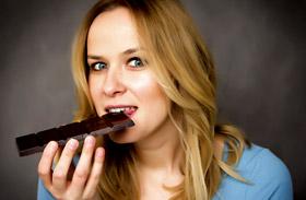 Fogyás csokival