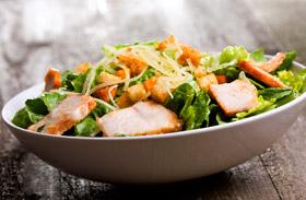 Kalóriaszegény saláták