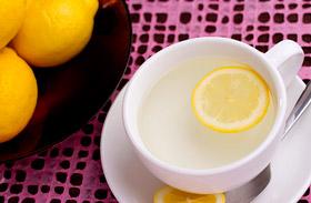 Meleg víz citrommal