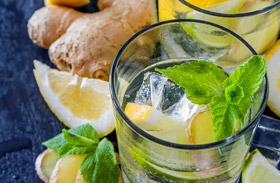 Mentás fogyókúrás víz