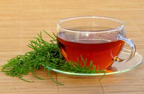 Mezei zsurló tea