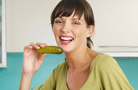 Savanyú uborka - kalória