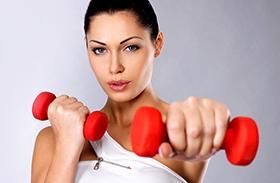 Súlyzós edzés fogyás