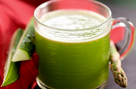 Zöld italok készítése