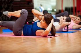 Zsírégető edzés hasra