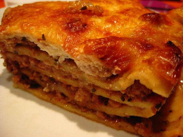 Házi lasagne