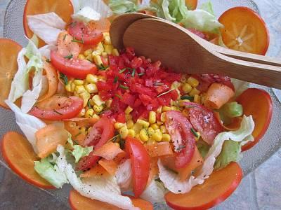 Napsugár saláta