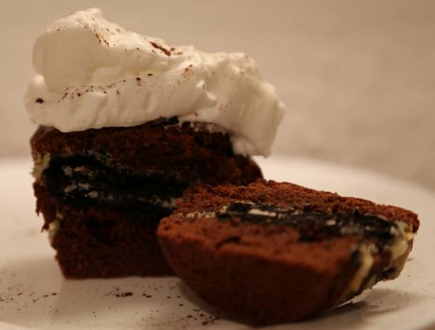Csokikekszes muffin