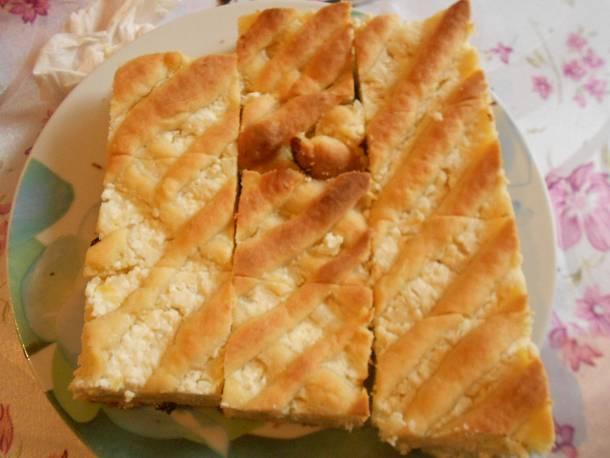 Rizses- túrós süti