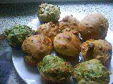 Diós-kéksajtos muffin