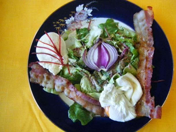 Mákos- mézes saláta