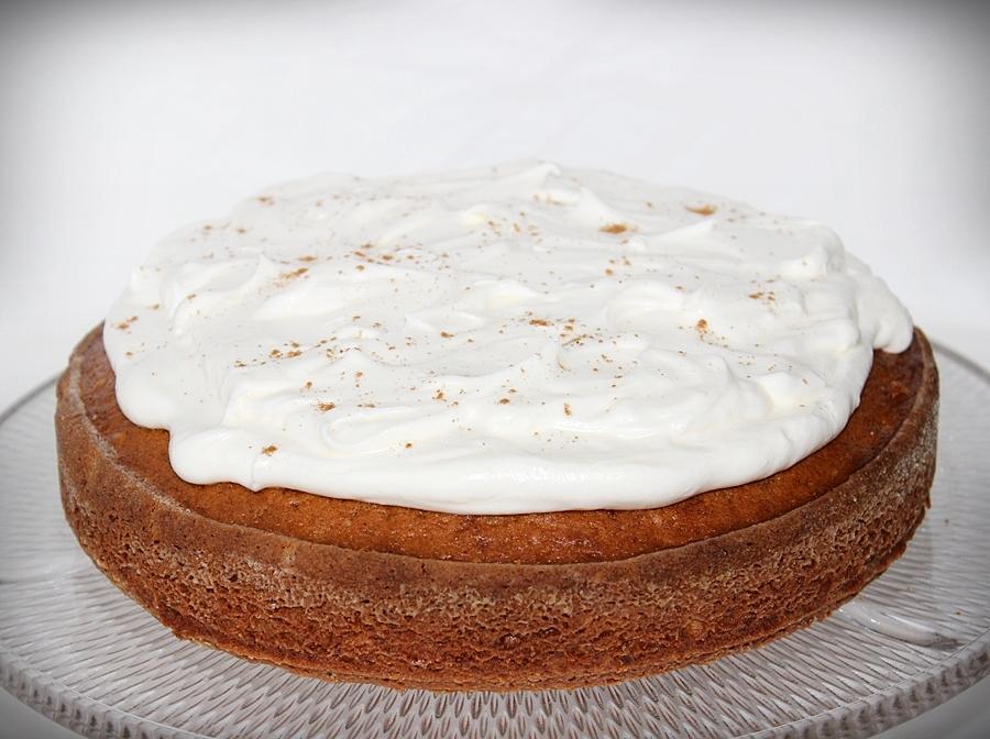 Sütőtökös-diós torta
