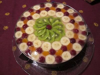 Emeletes gyümölcstorta