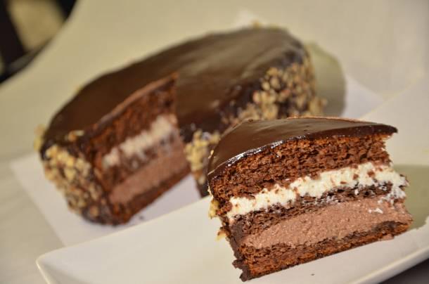 Diós Túró Rudi torta