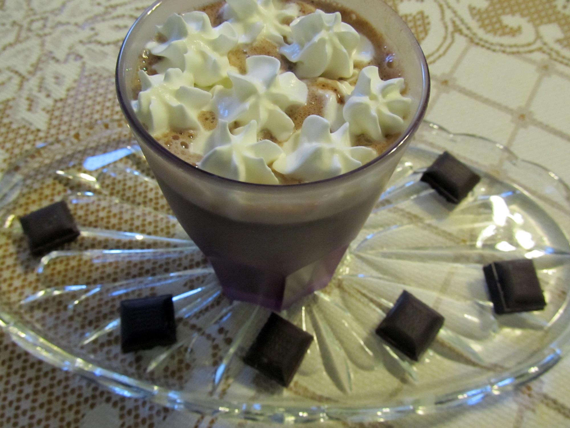 Chilis-gyömbéres forró csoki