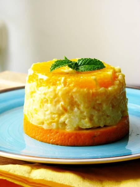 Narancsos rizspuding