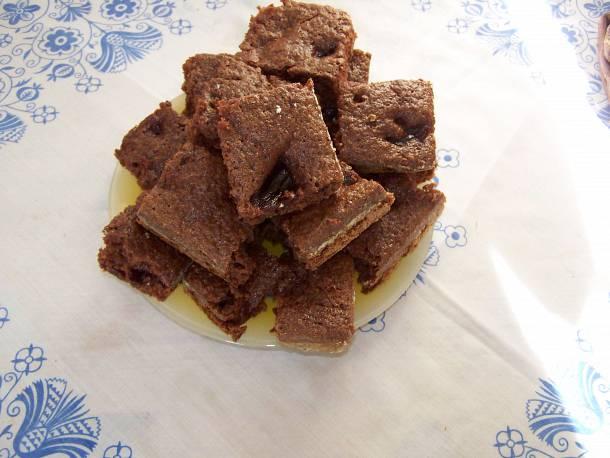 Meggylekváros csokis süti