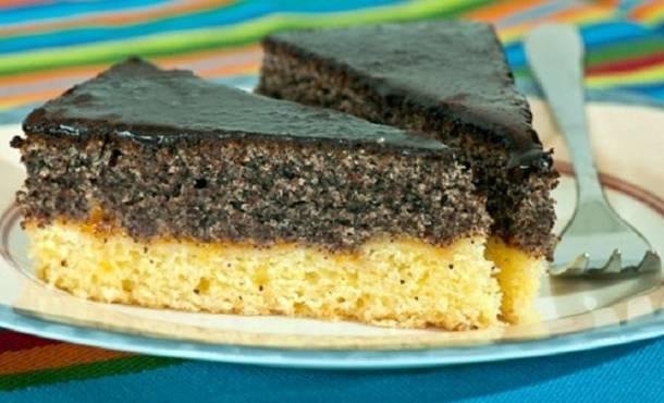Csokis-mákos sütemény