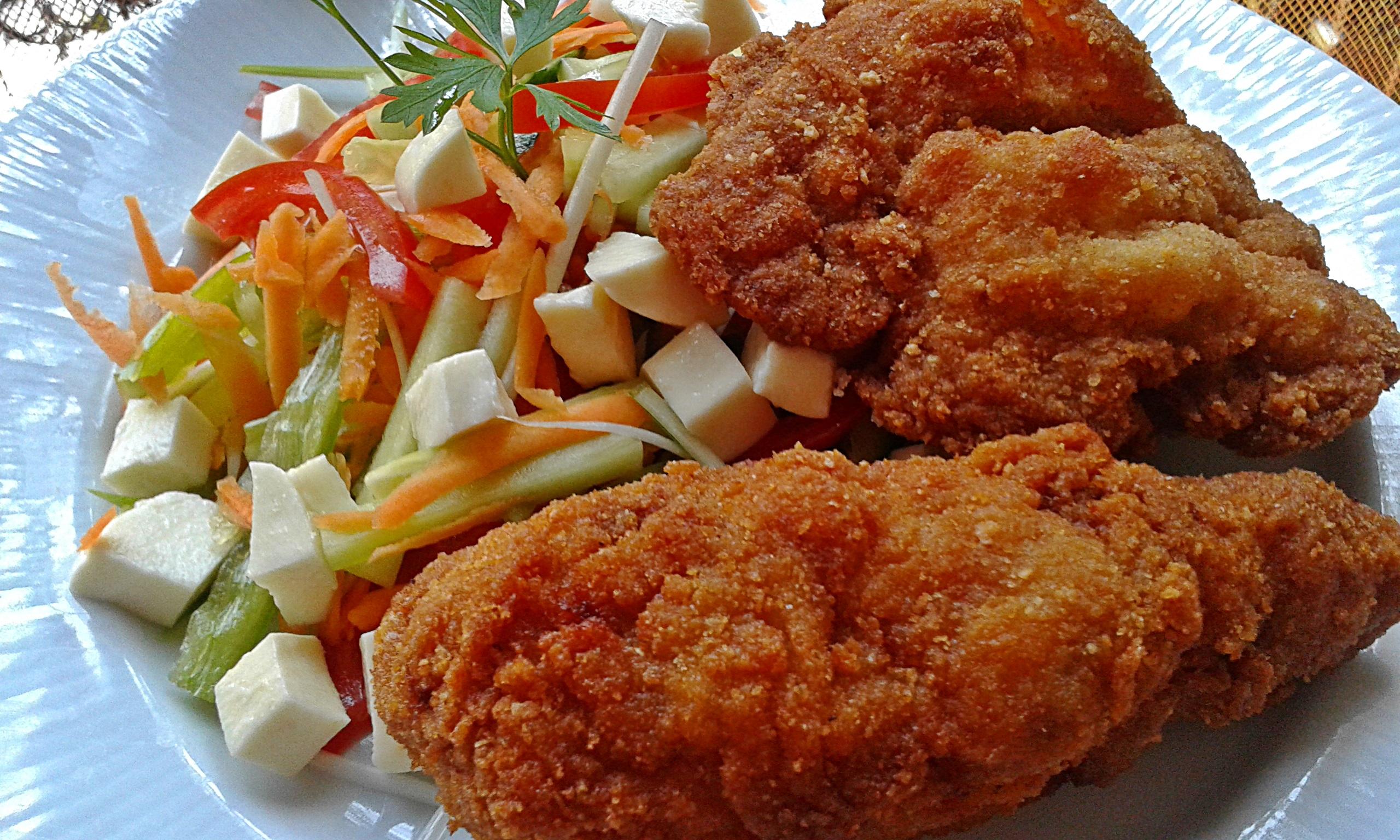 Karibi rántott csirkecomb