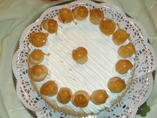 St. Honoré torta
