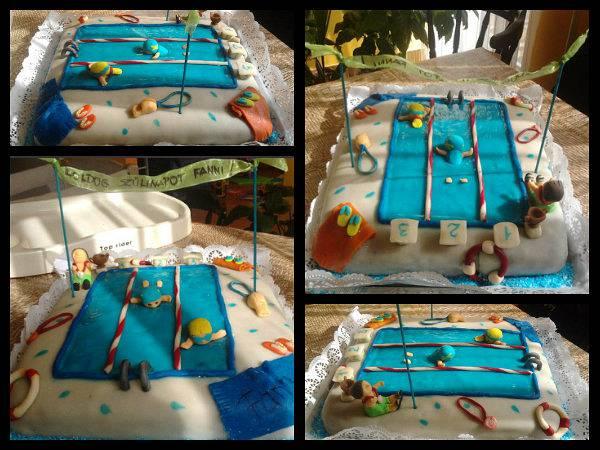 Csupacsoki torta úszóknak