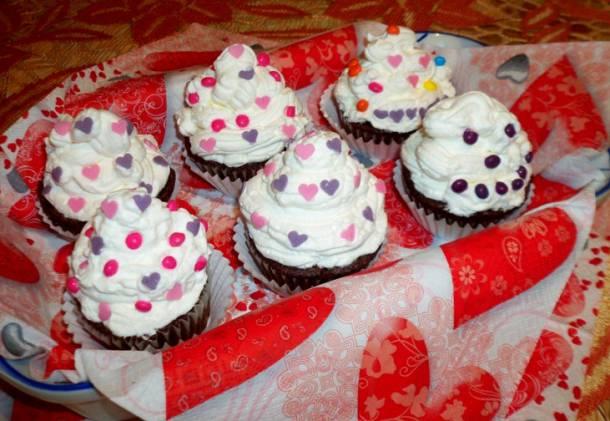 Valentin - napi muffinok
