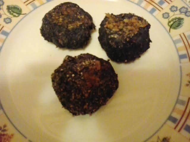 Vöröskáposzta-fasírt sütőben