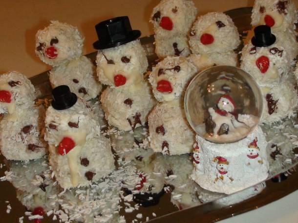 Kókuszos hóemberek