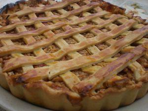 Amerikai almás pite: