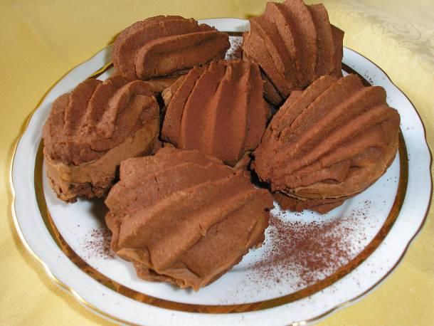 Csokoládés medvetalp