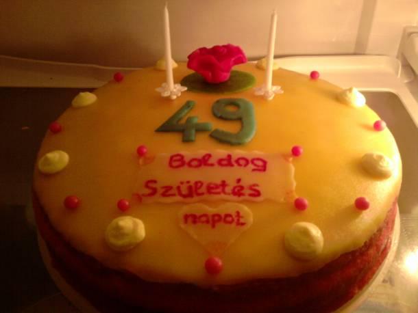 Túrókrémes torta