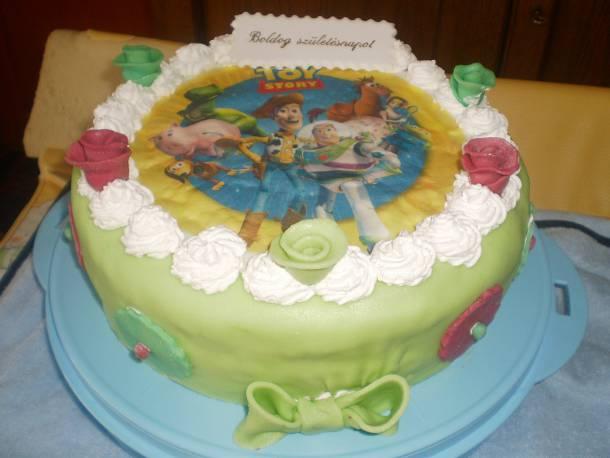 Somlói galuska torta