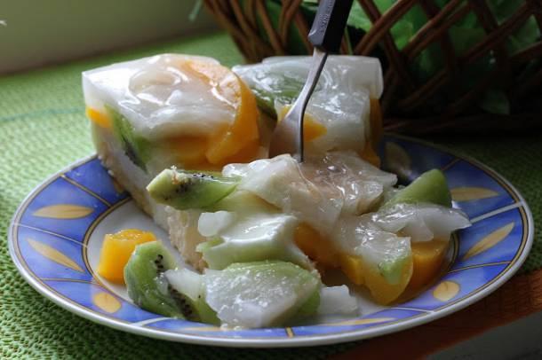 Joghurtos gyümölcstorta