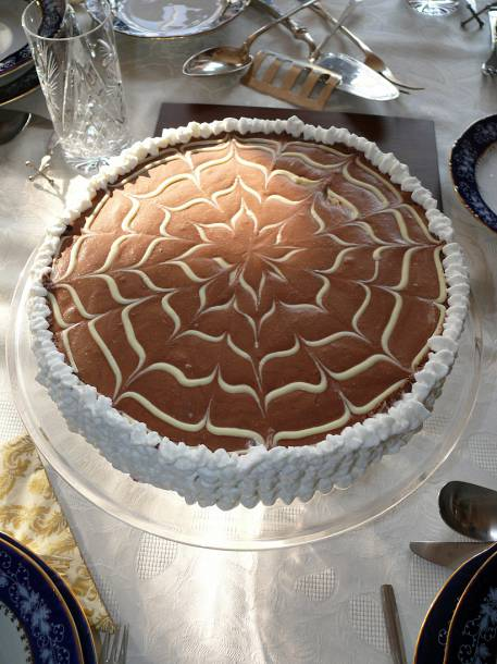 Triplacsokis csokitorta