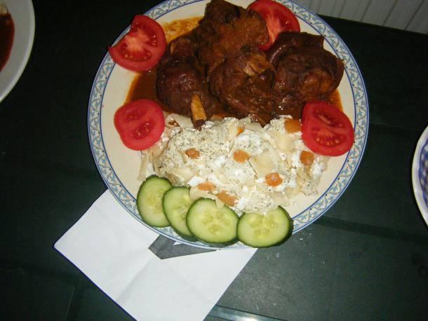 Kakaspöri túrós tésztával