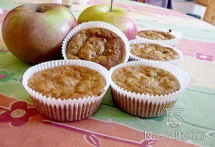 Egyszerű almás túrós süti