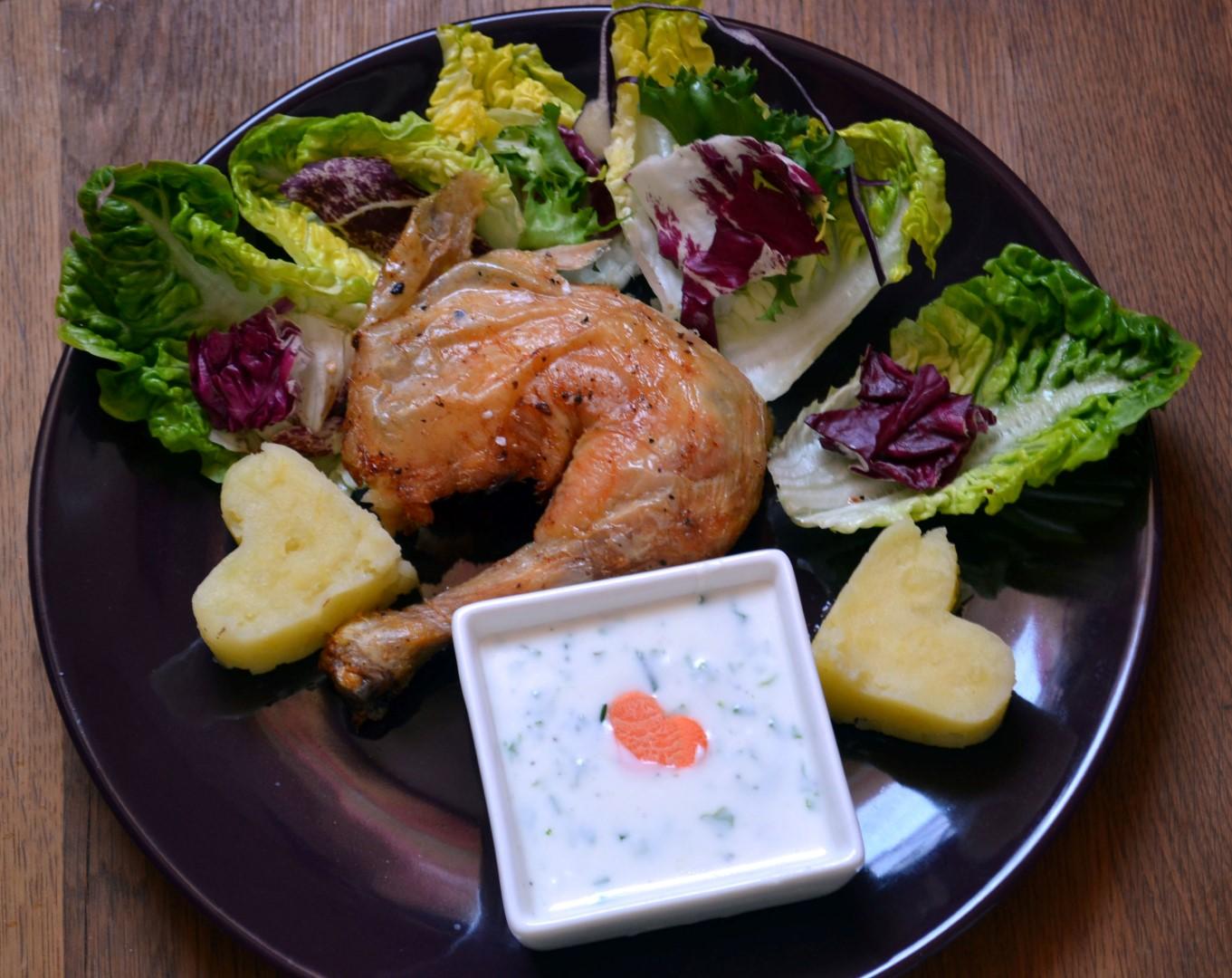 Joghurtos salátaöntet