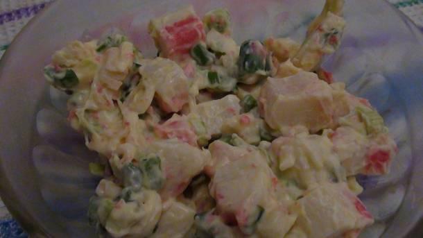 Surimi saláta