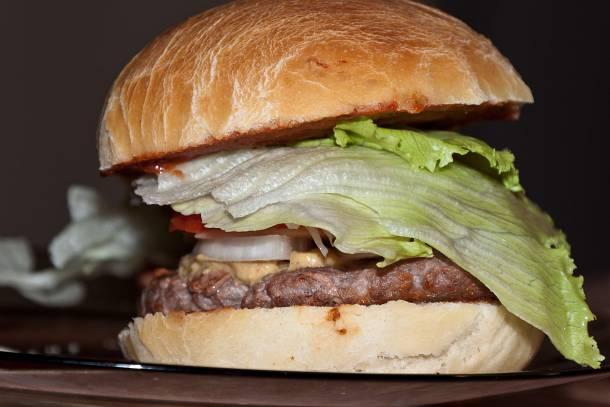 Hamburger házilag